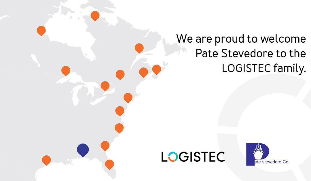LOGISTEC continues expansion with acquisition of Pate Stevedore